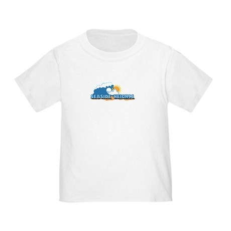Seaside Heights NJ - Waves Design. Toddler T-Shirt