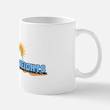 Seaside Heights NJ - Waves Design. Mug
