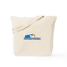 Seaside Heights NJ - Waves Design. Tote Bag