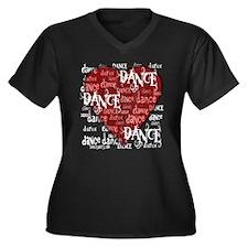 Funky Dance by DanceShirts.com Women's Plus Size V