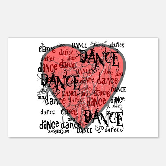 Funky Dance by DanceShirts.com Postcards (Package