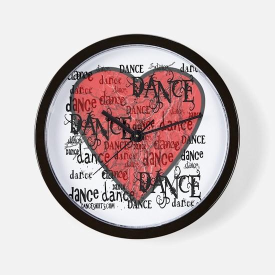 Funky Dance by DanceShirts.com Wall Clock