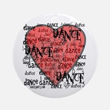 Funky Dance by DanceShirts.com Ornament (Round)