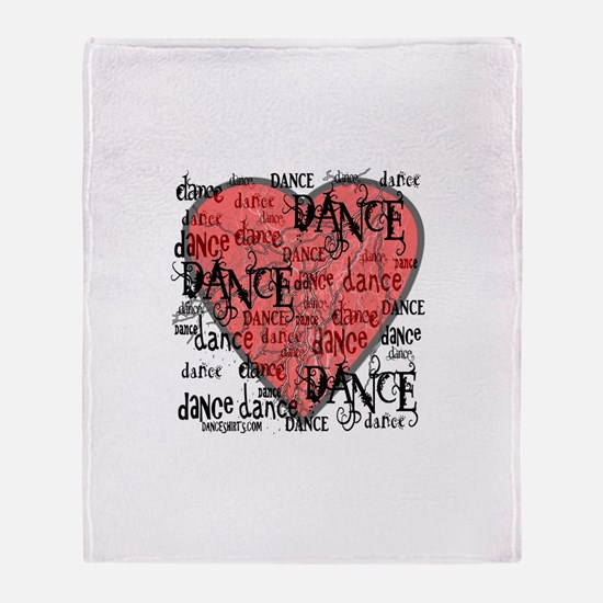 Funky Dance by DanceShirts.com Throw Blanket