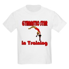 Gymnastic Star in Training Olivia Kids T-Shirt