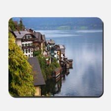 Mousepad Featuring The Beautiful Town Of Halstatt