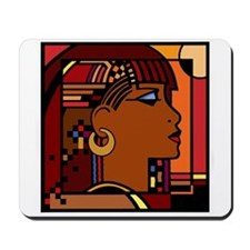 Egyptian Queen brown Mousepad