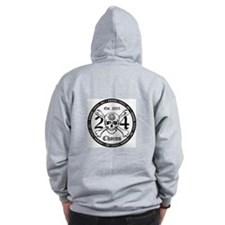 24 Chains Disc Golf Zip Hoodie