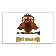 TWO HOOTS MAYBE Decal