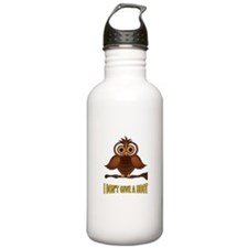 TWO HOOTS MAYBE Water Bottle