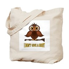 TWO HOOTS MAYBE Tote Bag