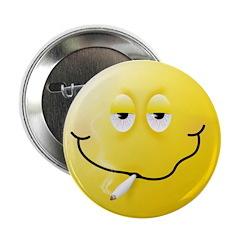 Smoker Smiley Face 2.25