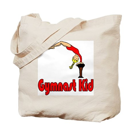 Gymnast Kid Abigail Tote Bag