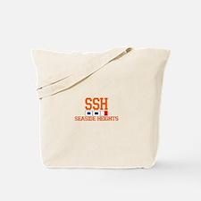 Seaside Heights NJ - Nautical Flags Design. Tote B