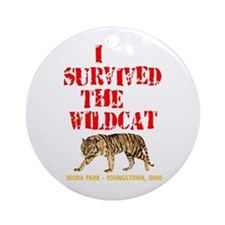 I Survived the Wildcat Ornament (Round)
