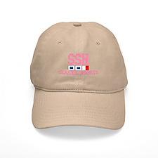 Seaside Heights NJ - Nautical Flags Design. Baseball Cap