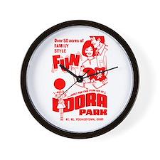 Idora FUN! Wall Clock