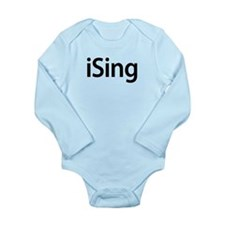 iSing Long Sleeve Infant Bodysuit