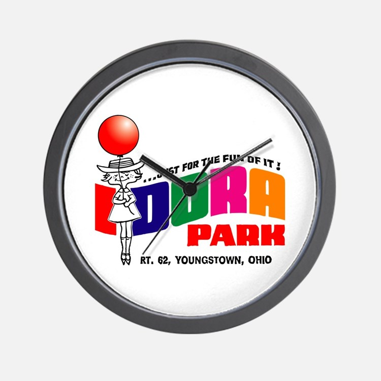 Idora Park Balloon Wall Clock