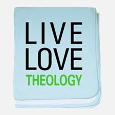 Live Love Theology baby blanket