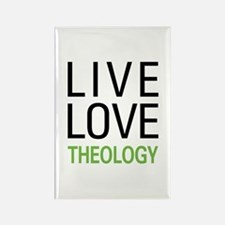 Live Love Theology Rectangle Magnet