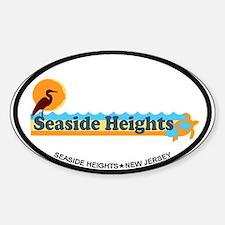 Seaside Heights NJ - Beach Design Decal