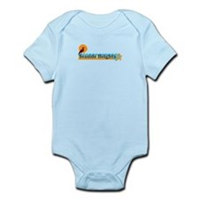 Seaside Heights NJ - Beach Design Infant Bodysuit