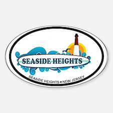 Seaside Heights NJ - Surf Design Decal