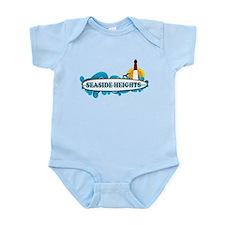 Seaside Heights NJ - Surf Design Infant Bodysuit
