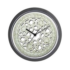 Round_Decorative_Tile Wall Clock