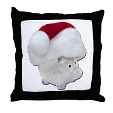 Santa Funds Throw Pillow