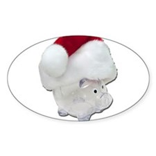 Santa Funds Decal