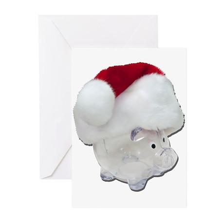 Santa Funds Greeting Cards (Pk of 10)