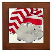Santa Helper Fund Framed Tile