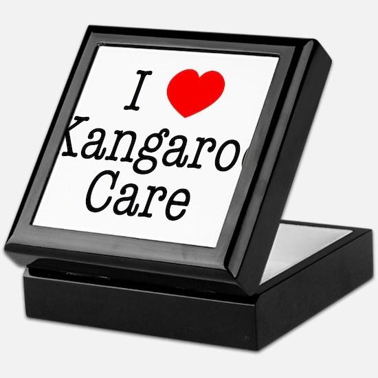 I Love Kangaroo Care Keepsake Box