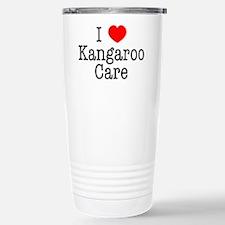 I Love Kangaroo Care Stainless Steel Travel Mug