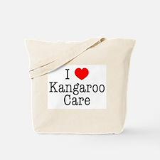 I Love Kangaroo Care Tote Bag