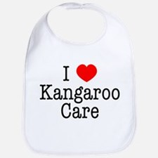 I Love Kangaroo Care Bib