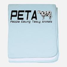 PETA baby blanket