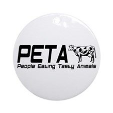 PETA Ornament (Round)