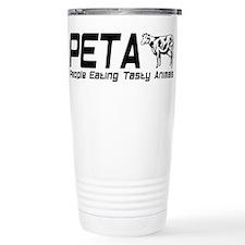 PETA Travel Coffee Mug