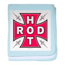 HOT ROD CROSS baby blanket