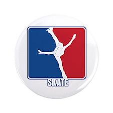 "Major League Figure Skating 3.5"" Button"
