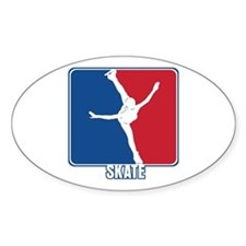 Major League Figure Skating Decal
