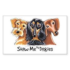 Doxie Dachshund Lover Decal