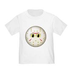 Hockey Mask Smiley Face T
