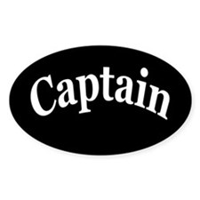 CAPTAIN Decal
