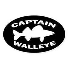 CAPTAIN WALLEYE Decal