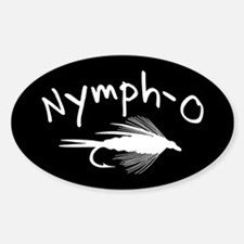 NYMPH-O Sticker (Oval)