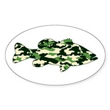 CAMO BASS Decal